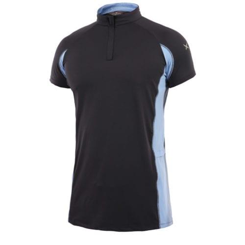 Camiseta técnica de entrenamiento azul marina para hombre modelo Brescia de Kingsland