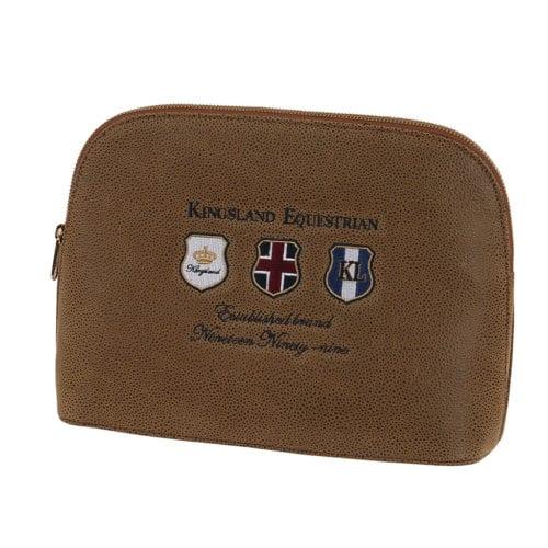 Bolsa marrón modelo Beeford Toiletery de Kingsland