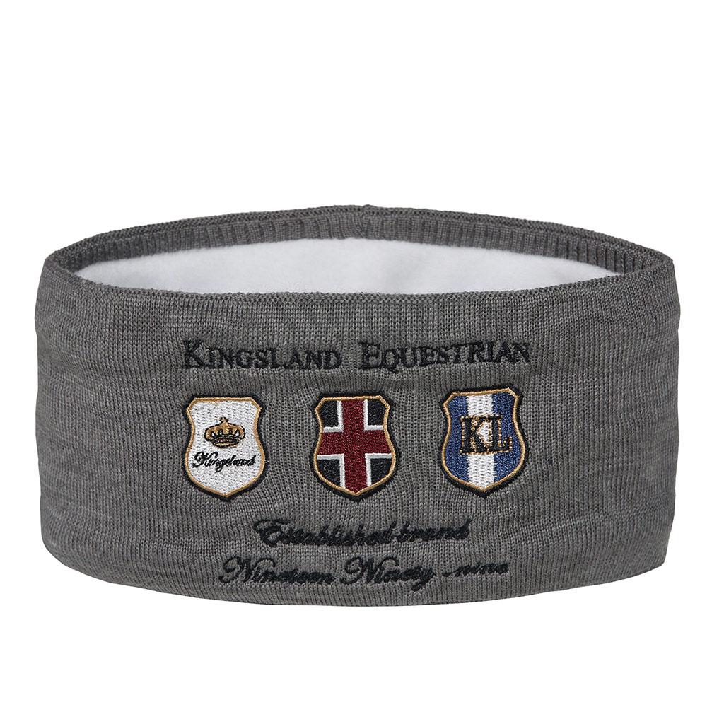 Banda de punto Unisex modelo Arisaig Color Gris oscuro de Kingsland