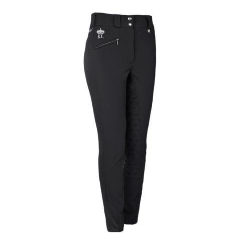 Pantalones full grip de montar grises para mujer modelo Eliza de Kingsland