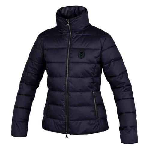 Abrigo azul marino acolchado para mujer modelo Valdez de Kingsland