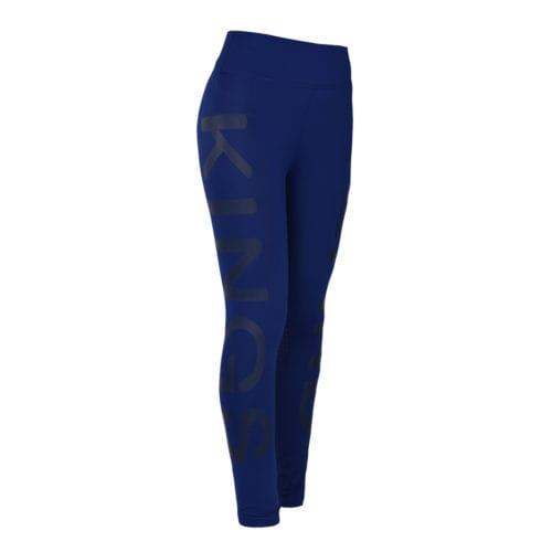 Mallas de compresión con grip en las rodillas blue depths para mujer modelo Karina de Kingsland