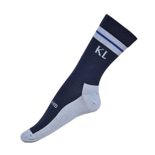 Calcetines técnicos grises y azul marino unisex modelo Edisto de Kingsland