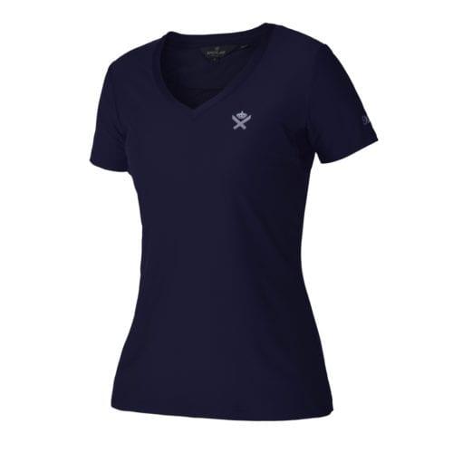 Camiseta azul marino para mujer modelo Brentina de Kingsland