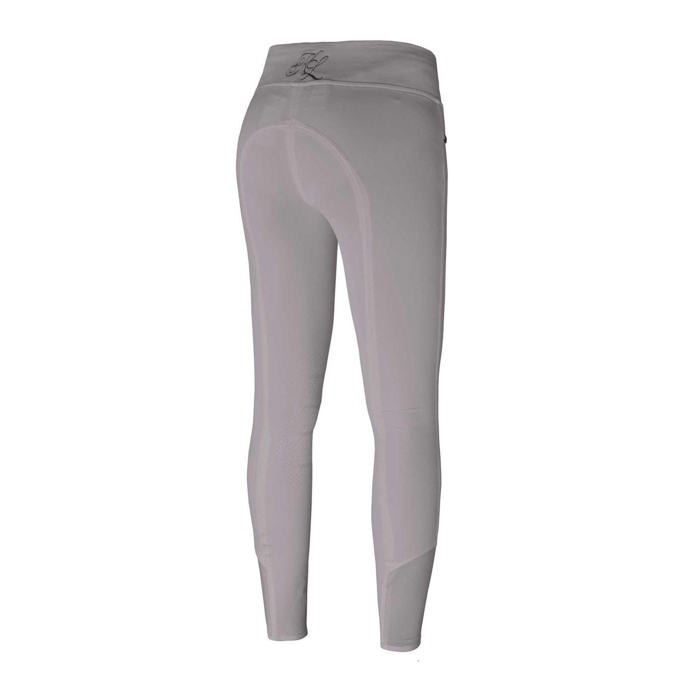 Pantalones con grip en las rodillas beige para mujer modelo Katja de Kingsland