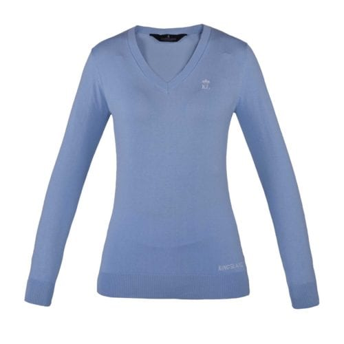 Jersey azul celeste de mujer modelo Denia de Kingsland