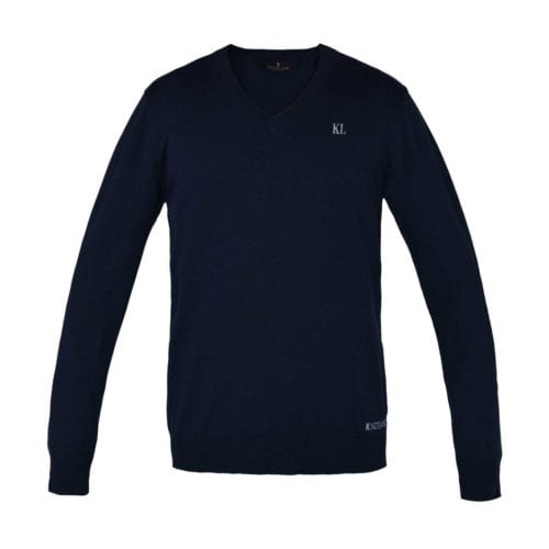 Jersey azul de hombre modelo Agres de Kingsland