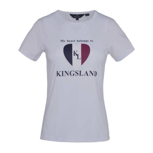 Camiseta blanco para mujer modelo Ibiza de Kingsland