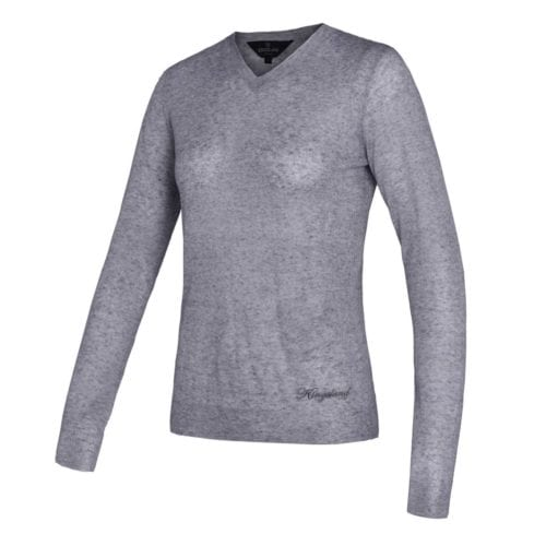 Jersey gris claro modelo Polodi de Kingsland