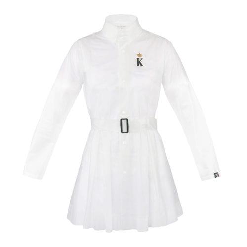 Impermeable con cinturón para mujer modelo Oslo Color Transparente de Kingsland