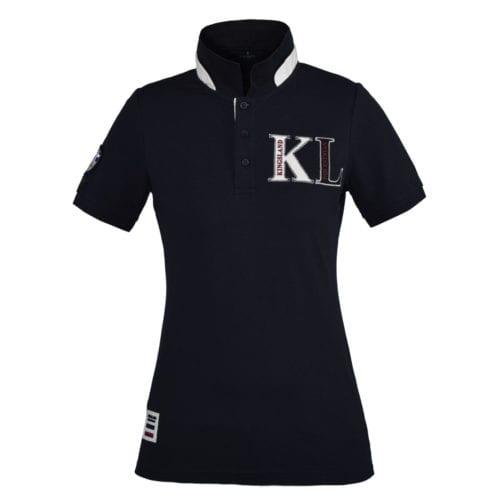 Polo manga corta para mujer modelo Cambria Color Azul marino de Kingsland
