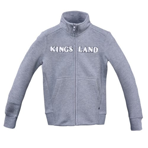 Chaqueta deportiva para junior modelo Co Color Gris oscuro de Kingsland