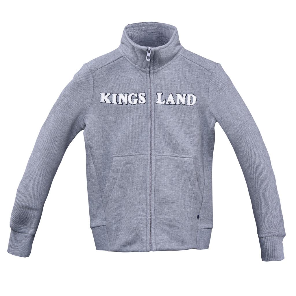 Chaqueta deportiva para junior modelo Co Color Gris oscuro de Kingsland