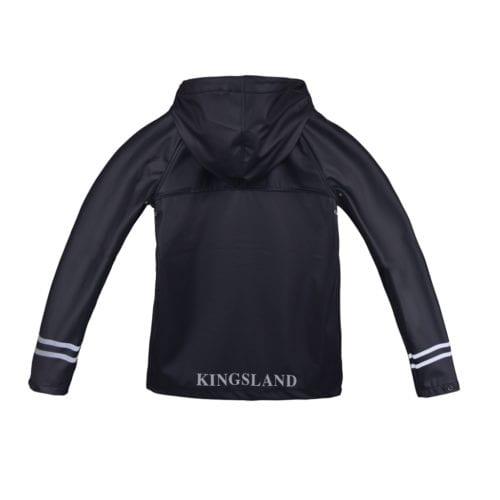 Chubasquero para junior modelo Claxton Color Azul marino de Kingsland