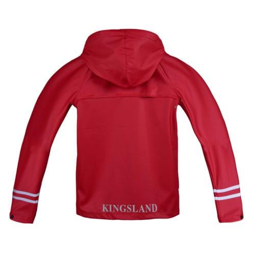 Chubasquero para junior modelo Claxto Color Rojo de Kingsland