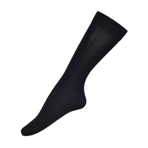 Calcetines de competición 3-Pack para mujer modelo Santee Color Negro de Kingsland