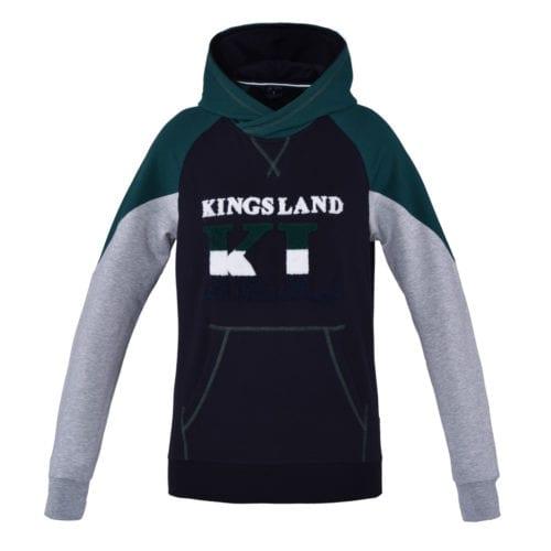 Sudadera con capucha Unisex modelo Andrews Color Verde de Kingsland