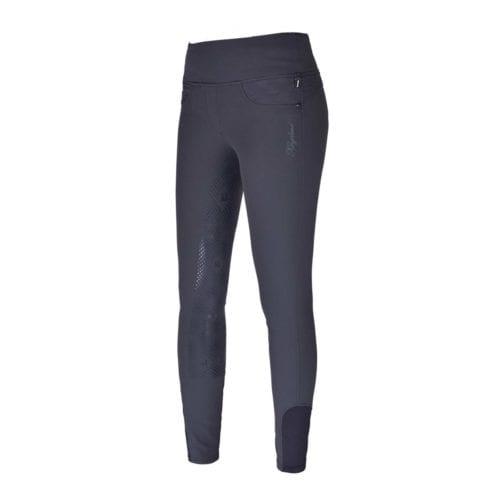 Pantalones con grip en las rodillas gris para mujer modelo Katja de Kingsland