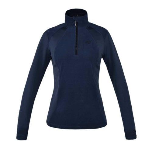 Jersey polar para mujer modelo Melody Color Azul marino de Kingsland