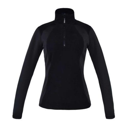 Jersey polar para mujer modelo Melody Color Negro de Kingsland