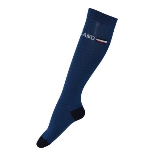 Calcetines Unisex modelo Ashton Coolmax Knee Color Azul de Kingsland