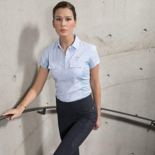 Camisa para mujer modelo Garaisso Color Azul de Kingsland