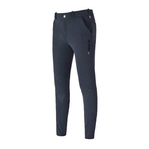 Pantalones con grip en las rodillas azul marino para hombre modelo Kenton de Kingsland