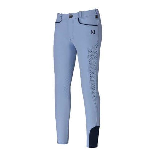 Pantalones de montar azul para niña modelo Kaila de Kingsland