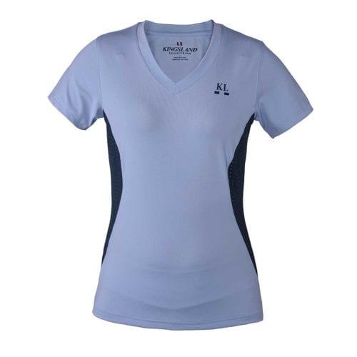 Camiseta azul para mujer modelo Isla de Kingsland
