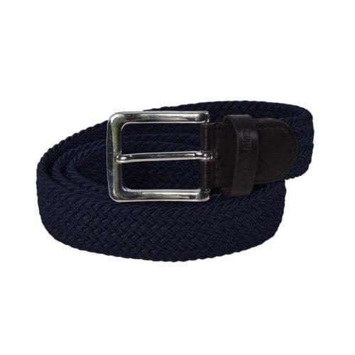 Cinturón azul marino unisex modelo Tende de Kingsland