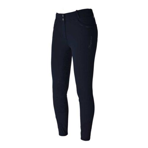 Pantalones full-grip azul marino para mujer modelo Kristina de Kingsland