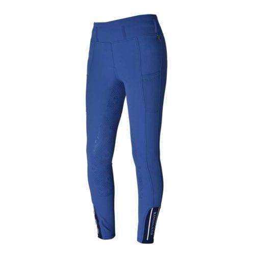 Pantalones full-grip azul para mujer modelo Katja de Kingsland