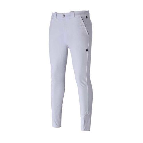 Pantalones con grip en las rodillas blanco para hombre modelo Kurtis de Kingsland