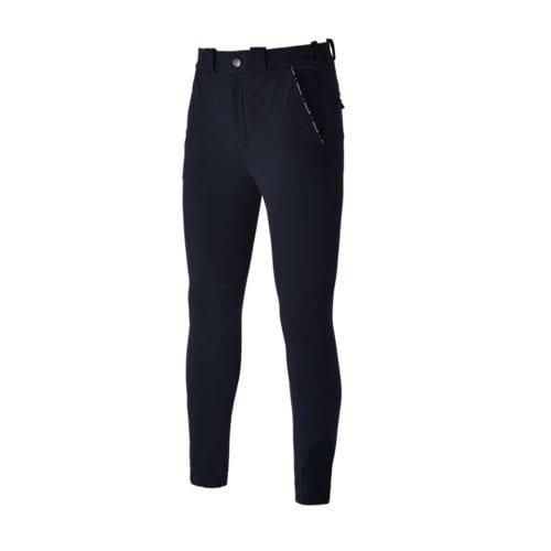 Pantalones con grip en las rodillas azul marino para hombre modelo Kurtis de Kingsland