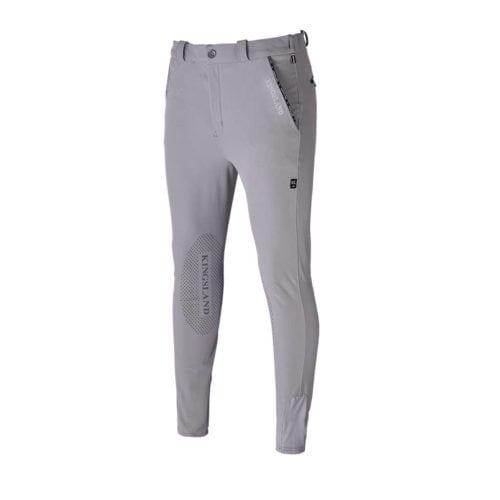Pantalones con grip en las rodillas beige para hombre modelo Kurtis de Kingsland