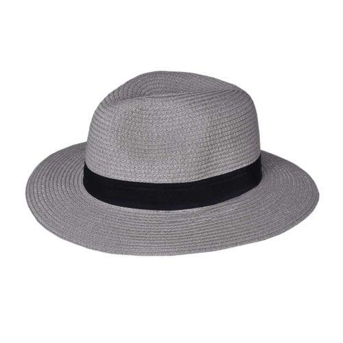 Sombrero gris claro unisex modelo Mandeleu de Kingsland