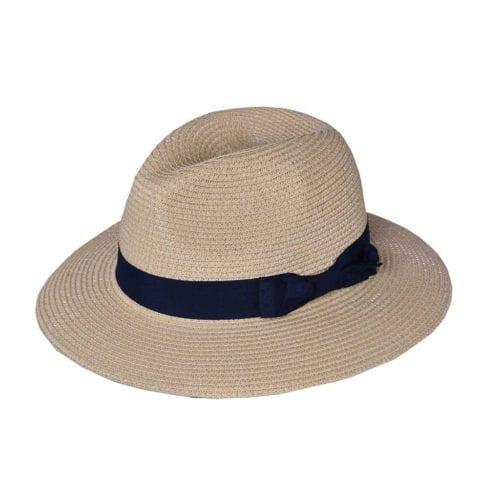 Sombrero beige unisex modelo Mandeleu de Kingsland