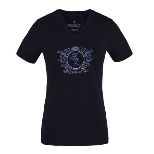 Camiseta azul marino para mujer modelo Mougins de Kingsland