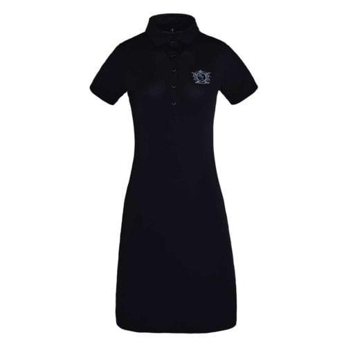Vestido de tejido técnico azul marino para mujer modelo Christine de Kingsland