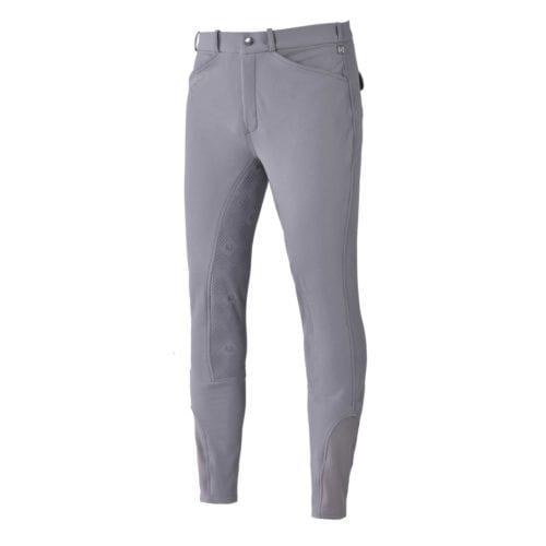 Pantalones full-grip gris para hombre modelo Kenton de Kingsland