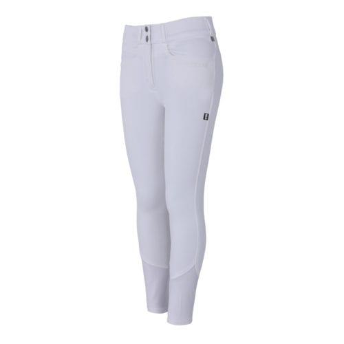 Pantalones full grip blancos para mujer modelo Kadi de Kingsland