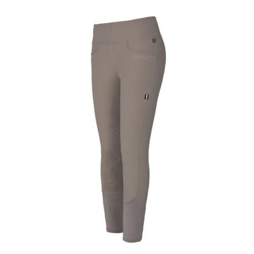 Pantalones de montar full grip beige para mujer modelo Katja de Kingsland