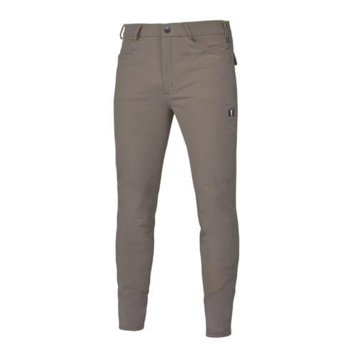 Pantalones con grip en las rodillas beige para hombre modelo Kenton de Kingsland