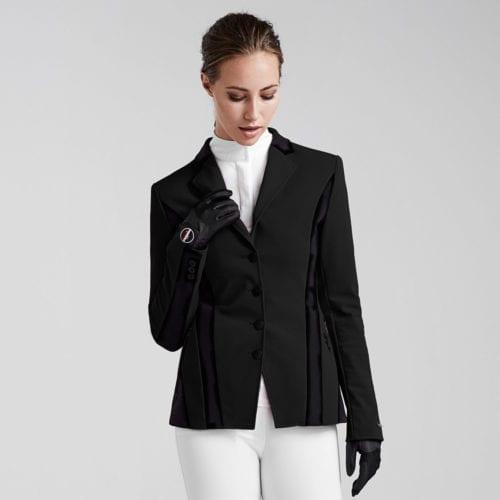 Americana de competición para mujer modelo Sila Master Sporty Sj Color Negro de Kingsland
