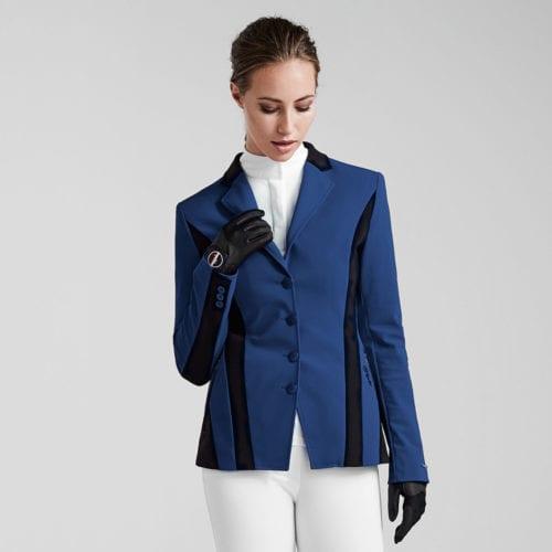 Americana de competición para mujer modelo Sila Master Sporty Sj Color Azul de Kingsland