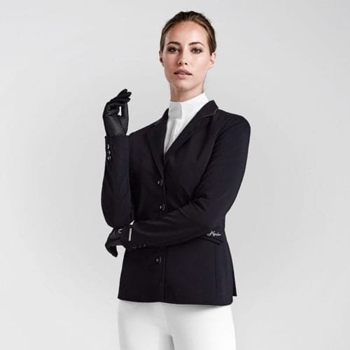 Americana de competición para mujer modelo Elvira Master Elegant Sj Color Negro