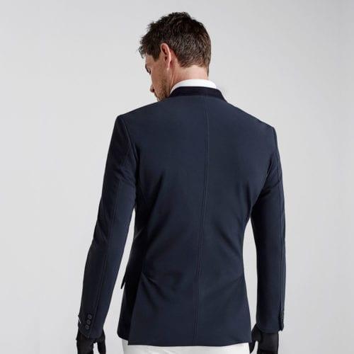 Americana de competición para hombre modelo Emesto Master Elegant Sj Color Azul marino de Kingsland