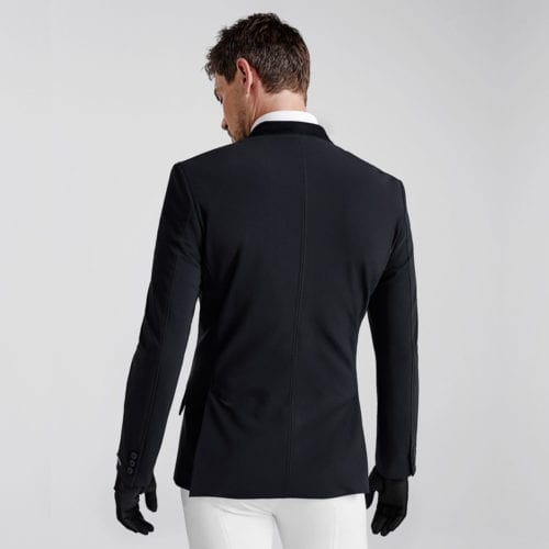 Americana de competición para hombre modelo Emesto Master Elegant Sj Color Negro de Kingsland