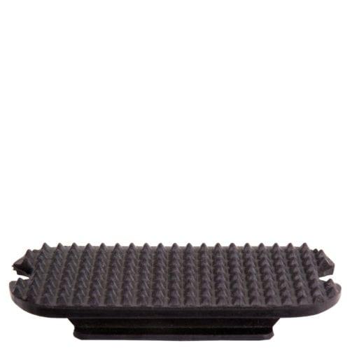 Almohadillas de estribo modelo clasico Color Negro de BR
