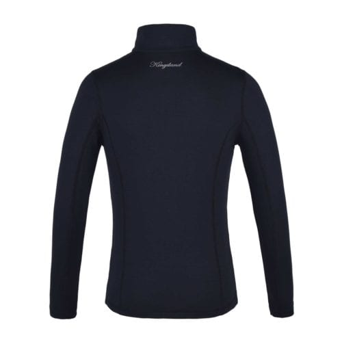 Camiseta de entrenamiento de manga larga azul marino junior modelo Pincourt de Kingsland